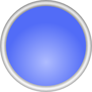 Shiny Blue Circle PNG image