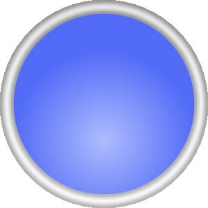 Shiny Blue Circle PNG Clip art