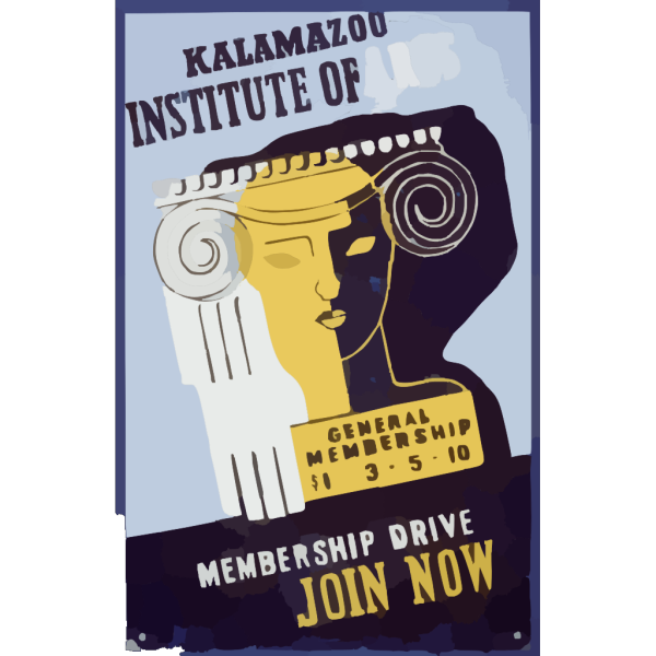 Kalamazoo Institute Of Arts - Membership Drive - Join Now PNG images