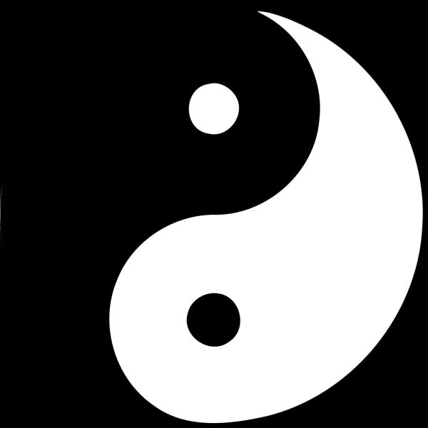 Blue Yin Yang PNG Clip art