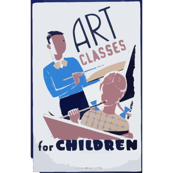 Art Classes For Children  / Bender. PNG images