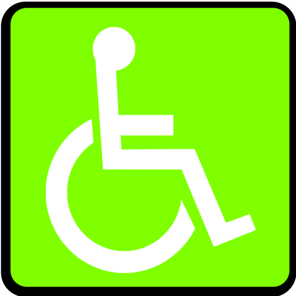 Handicapped Accessible Sign PNG Clip art