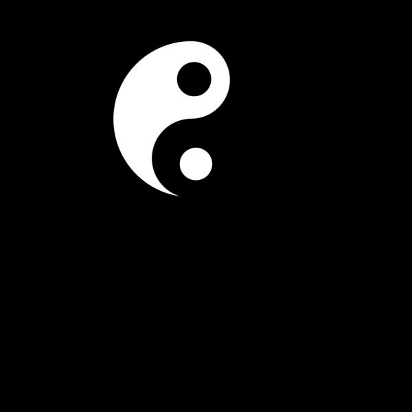 Yin Yang 6 PNG Clip art