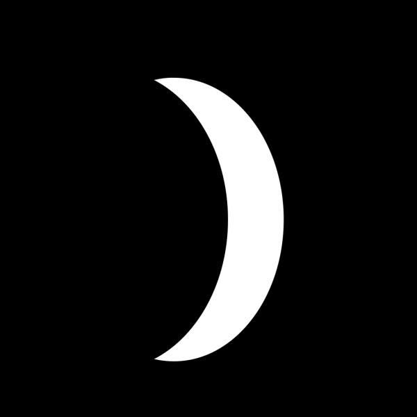 Five Interlaced Crescents PNG Clip art