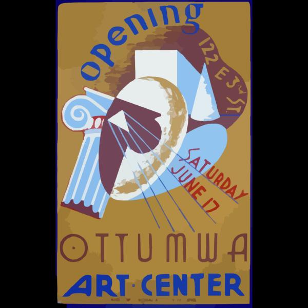 Opening Ottumwa Art Center, 122 E 3rd St. Saturday June 17 PNG Clip art