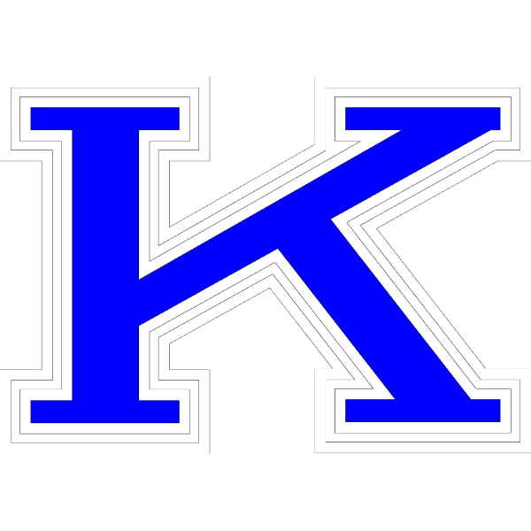 Stylized K PNG Clip art