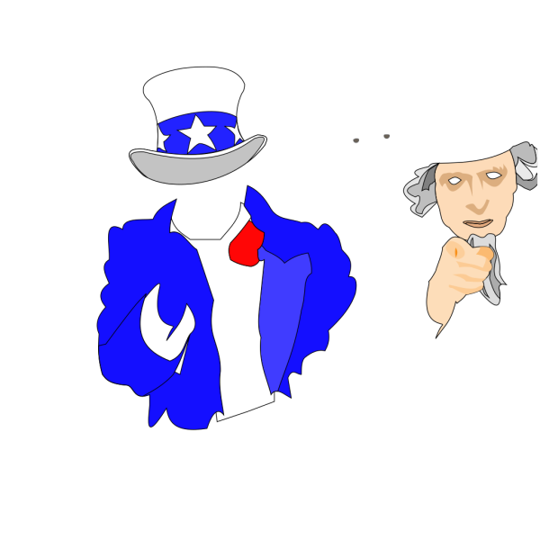 Creepy Uncle Sam PNG images