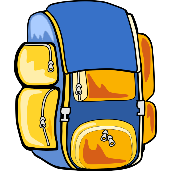 Arking Backpack PNG images