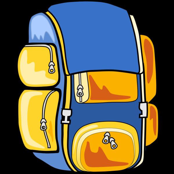 Arking Backpack PNG Clip art
