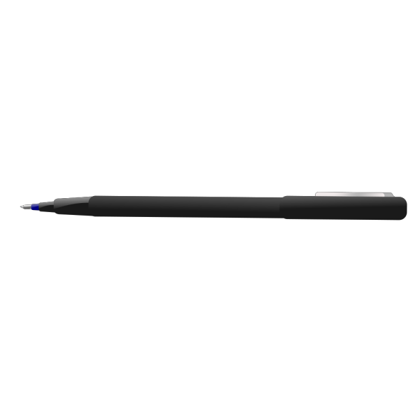 Baroquon Blue Ball Point Pen PNG Clip art