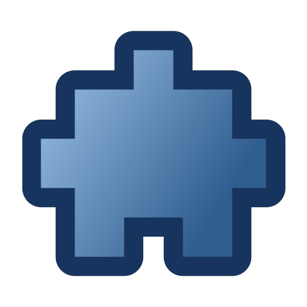 Jean Victor Balin Icon Puzzle Blue PNG images