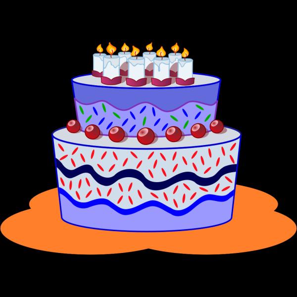Freephile Cake PNG Clip art