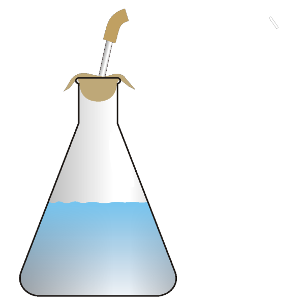 Olagosta Bubbling Erlenmeyer PNG Clip art