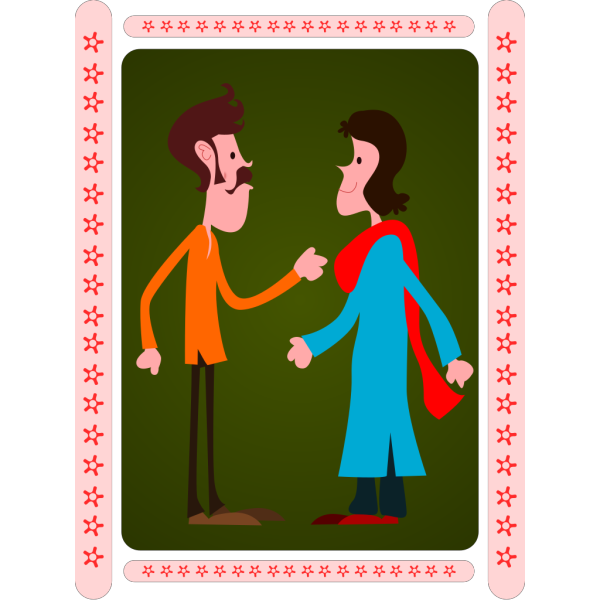 Kablam Indian Couple PNG images
