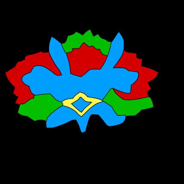 Colorful Decorative Flower PNG Clip art