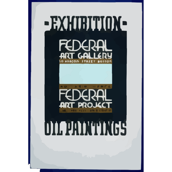 Exhibition - Oil Paintings, Federal Art Gallery PNG Clip art