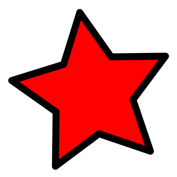 Star PNG icons