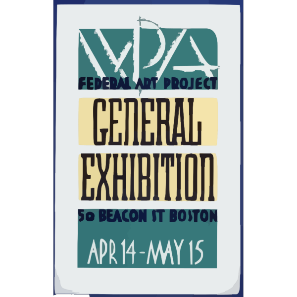 Wpa Federal Art Project General Exhibition PNG Clip art