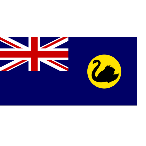 Flag Of Western Australia PNG Clip art