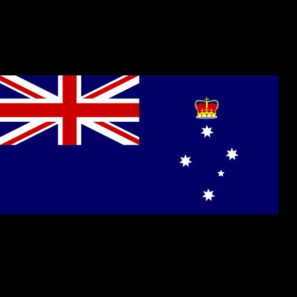 Flag Of Victoria Australia 2 PNG Clip art
