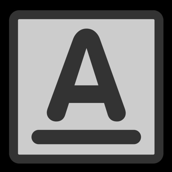 Format Text Underline PNG Clip art