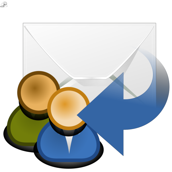 Mail Reply All PNG Clip art