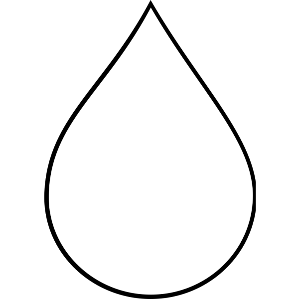Water Droplet PNG Clip art