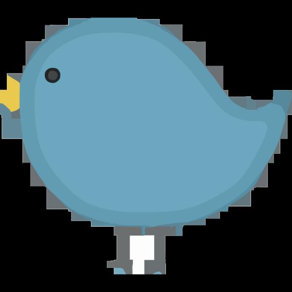 Pat Bluebird 2 PNG Clip art