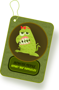 Mased Monster PNG Clip art