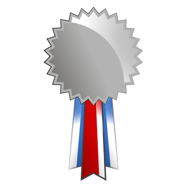 Silver Medal PNG images