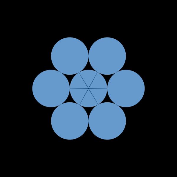 Tangent Circles PNG Clip art