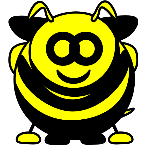 Spring With Bee PNG Clip art