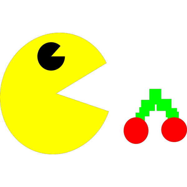 Square Pacman PNG clipart