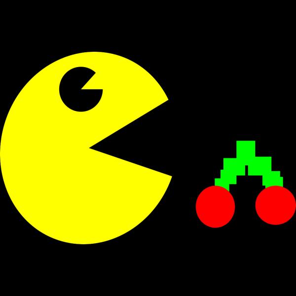 Square Pacman PNG Clip art