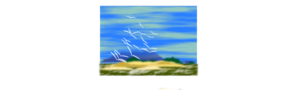 Landscape With Birds PNG icon