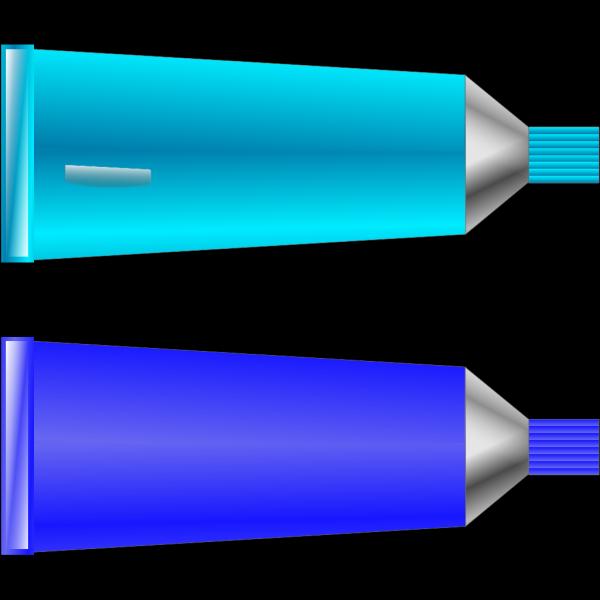 Color Tube Blue Cyan PNG Clip art