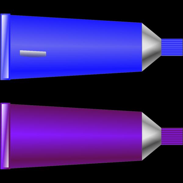 Color Tube Blue Purple PNG Clip art