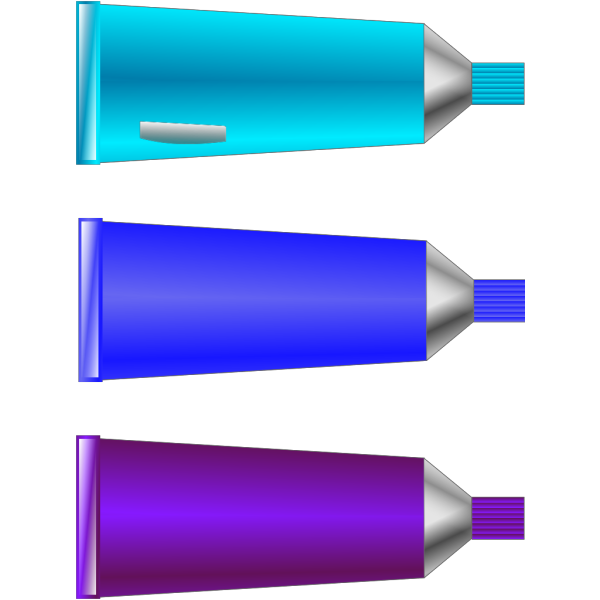 Color Tube Blue Purple Cyan PNG Clip art