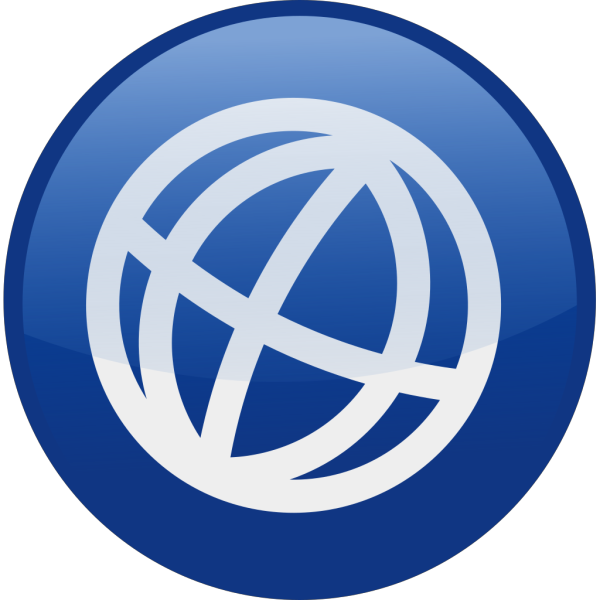 Blue Globe 2 PNG Clip art