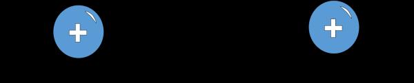 Blue Network Diagram PNG Clip art