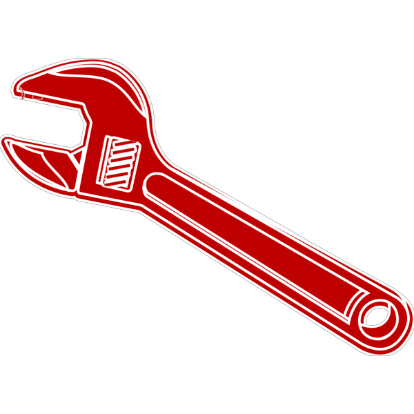 Hammer And Wrench Silhouette PNG Clip art