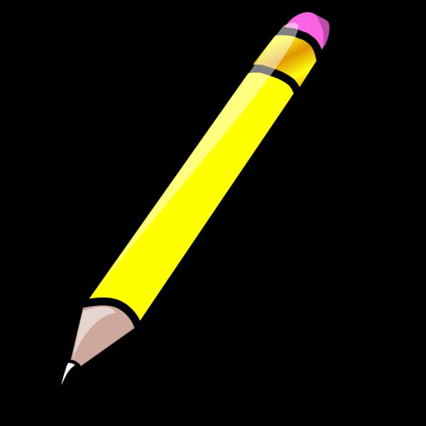 Pencil White Blue PNG Clip art