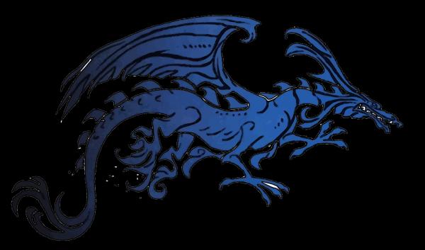 Feather Blue Black PNG Clip art