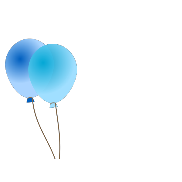 Emmas Blue Balloons PNG icon