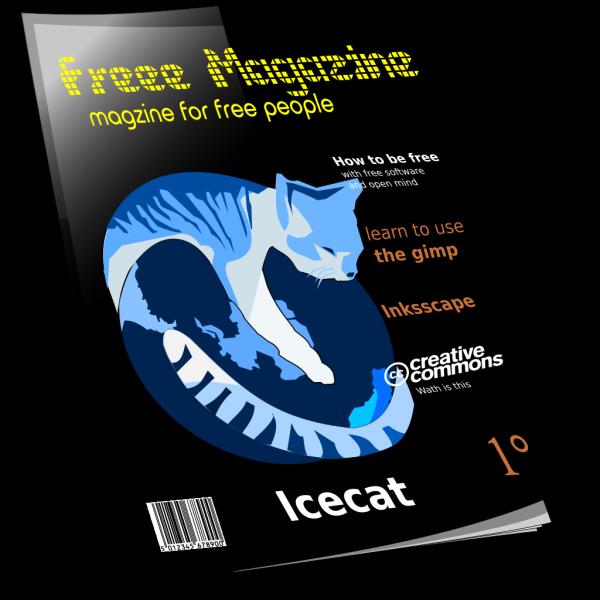 Magazine 3d PNG Clip art
