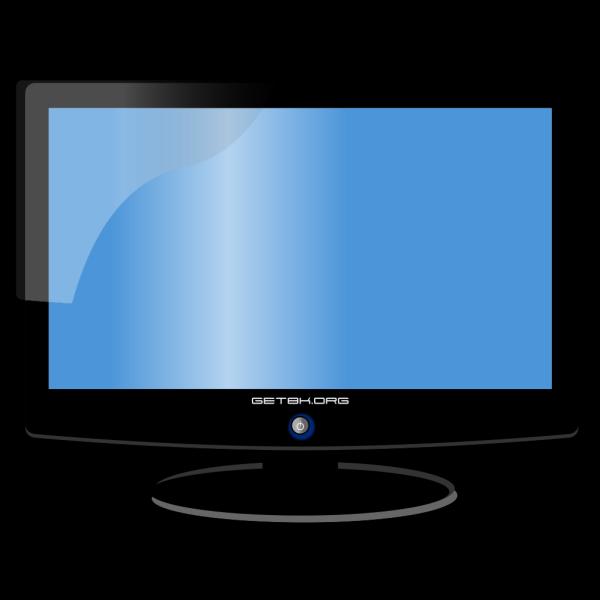 Blue Monitor PNG Clip art