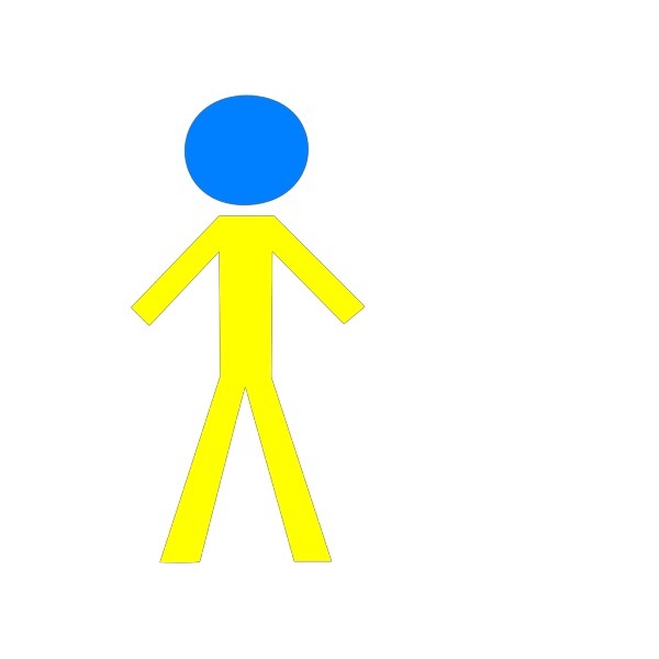 Male Yellow PNG icons