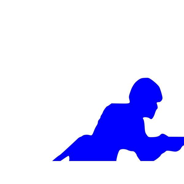 Blue Toy Soldier PNG Clip art