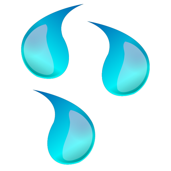 Water Droplets PNG Clip art