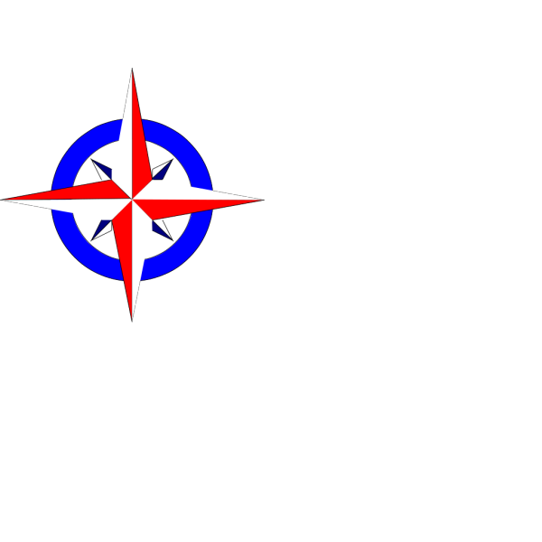Red White And Blue Star PNG Clip art